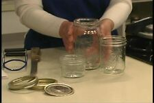 CANNING PRESERVING PICKLING DRYING INSTRUCT VIDEOS DVD