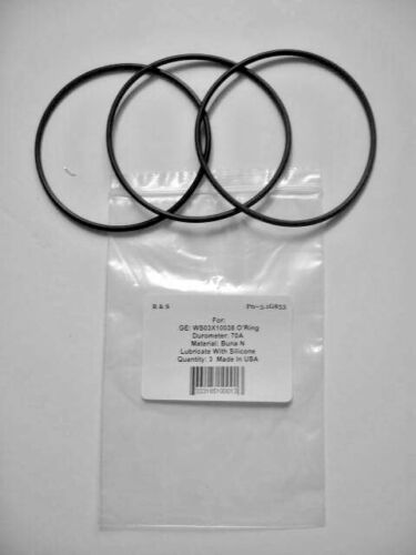 WS03X10038 Water Filter O-Ring for GXWH01C 3 GE KWGE25RG GXWH08C// R/&S 3.1-84G
