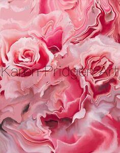 Pink Zinnia Art Card Pink Zinnia Flower Photo ACEO Floral Photograph Artist Trading Card