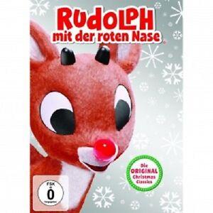 Animated-Rudolph-con-il-naso-rosso-l-039-originale-Christmas-Classics-DVD-NUOVO