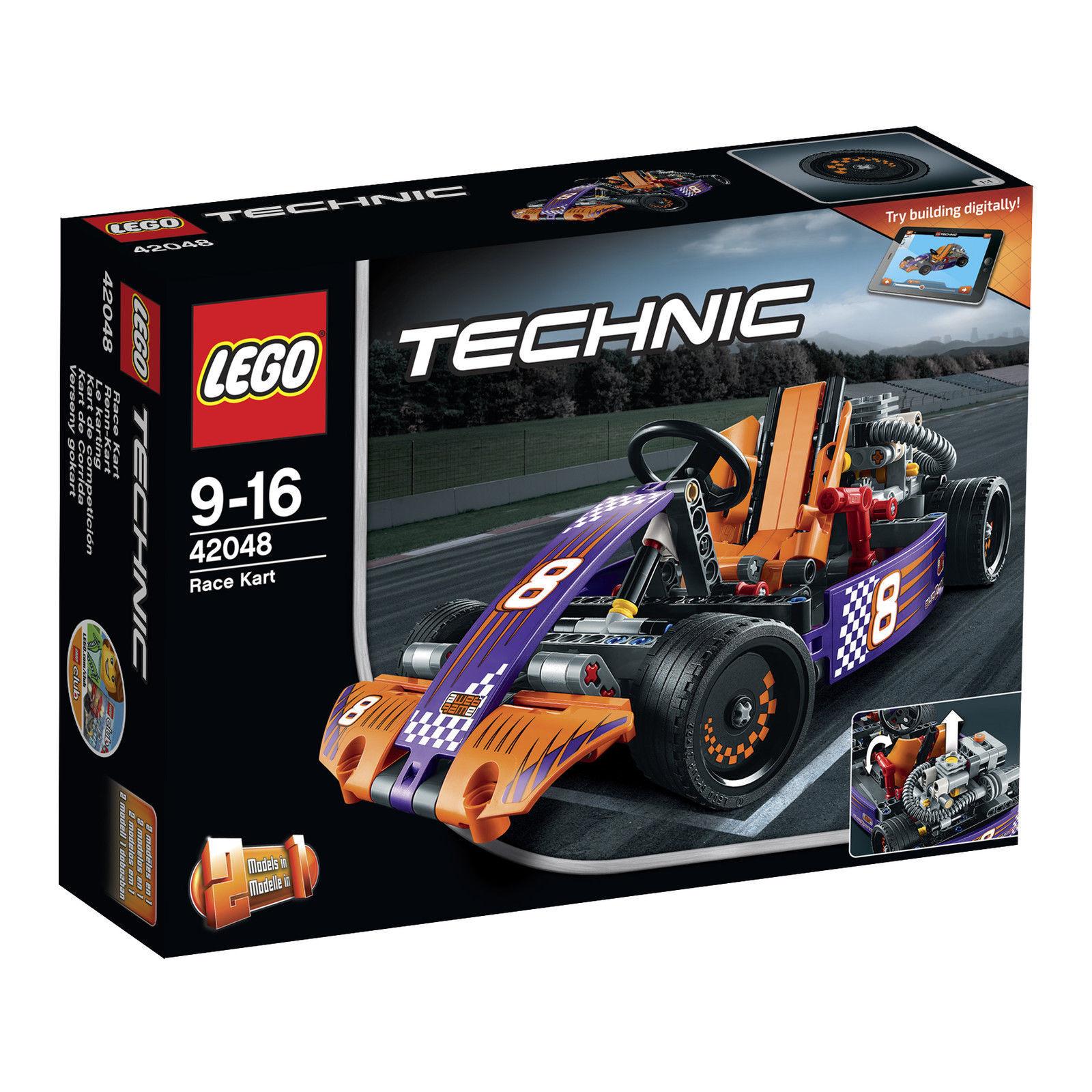 LEGO® Technic (42048) Renn-Kart inkl Versand