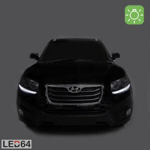 2-ampoules-a-LED-Blanc-Veilleuses-Feux-de-position-Hyundai-Santa-Fe-II