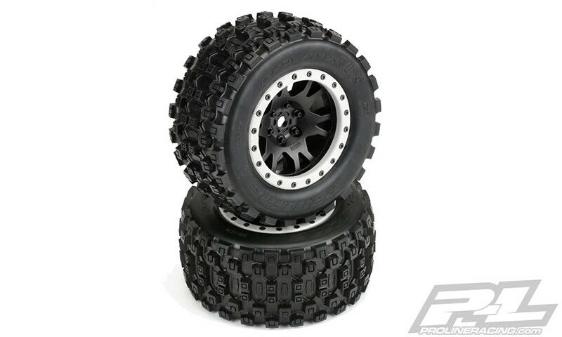 PRO1013113 Pro-Line Badlands MX43 Pro-Loc todo terreno neumáticos montados (2)