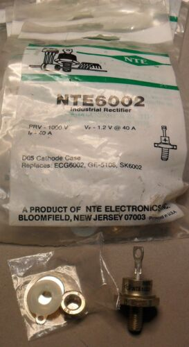 High Current Stud Rectifier Diodes with NTE Equivalents NEW