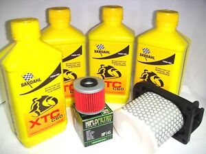 REPLACEMENT-KIT-4Lt-OIL-BARDAHL-10W40-XTC-C60-YAMAHA-750-XT-Z-Super-Tenere-1997