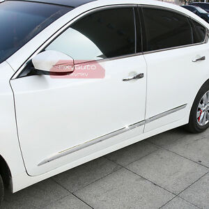 New Chrome Body Door Side Molding Cover Trim For Nissan ...