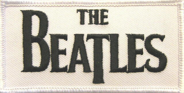 "BEATLES AUFBÜGLER / EMBROIDERY PATCH # 32 ""LOGO"""