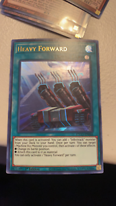 Heavy Forward Ultra Rare 1st Edition NM//M Yugioh ETCO-EN066