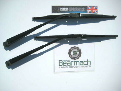 Land Rover Defender 90 Wiper Blades Arms Set Years upto 2001 Bearmach 110