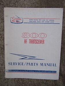 Peachy 1968 Cessna 300 Airplane Hf Transceiver Service Manual Parts More In Wiring 101 Tzicihahutechinfo