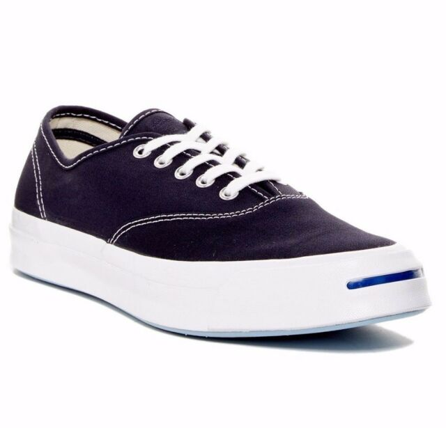 18abec1b65bd Converse Jack Purcell Canvas Shoe CVO Low Top Sneaker Inked Blue Size 9
