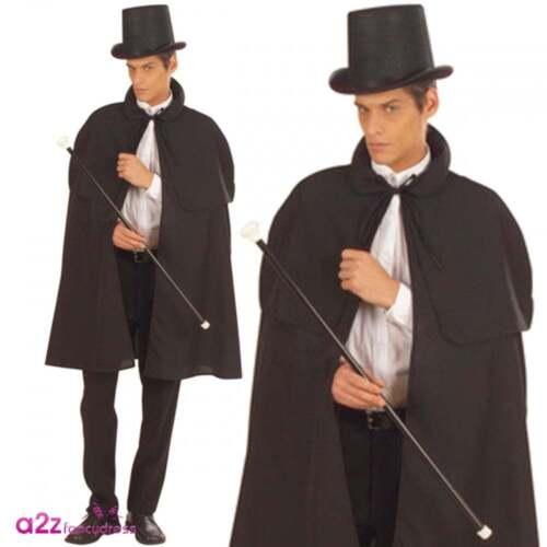 MENS VICTORIAN GENTLEMAN DETECTIVE SHERLOCK HOLMES FANCY DRESS NEW