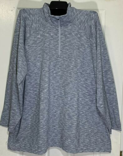 Lands End outfitters Women Plus size 2X Pull Over 1//4 Zip Jacket active wear