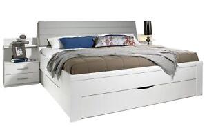 Bettanlage bett 180x200 cm stauraumbett komfortbett schlafzimmer