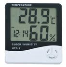 Thermometer Indoor Digital LCD Hygrometer Temperature Humidity Meter Alarm Cloc