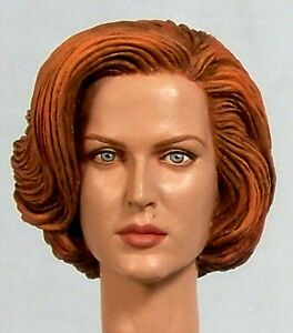 1 6 custom head of gillian anderson as dana scully from. Black Bedroom Furniture Sets. Home Design Ideas