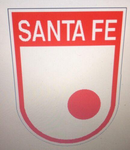 """Calcomanias 6/"""" Sante Fe"""