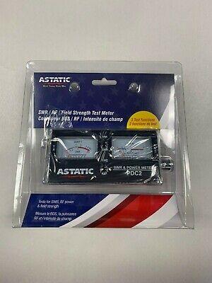 302-PDC2 ASTATIC TM PDC2 SWR POWER FIELD STRENGTH TEST METER TM ASTATIC