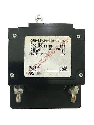 Carlingswitch 2.5 amp DC Marine Circuit Breaker White Bat