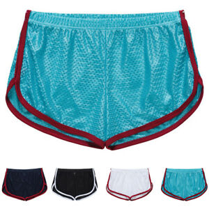 New-Breathable-Men-039-s-Swimwear-Boxers-Running-Trunks-Swim-Shorts-Beach-Hot-Pants
