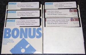 6-Disks-of-Games-for-the-Radio-Shack-TRS-80-Model-I-vintage-computer
