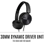 thumbnail 6 - Sony Noise Cancelling Headphones Foldable Stereo On Ear Headset MDRZX110NC New