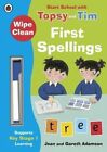 Wipe-Clean First Spellings: Start School with Topsy and Tim by Jean Adamson (Paperback, 2016)