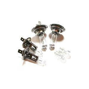 Audi A6 C5 H7 H7 501 100w Clear Xenon HID High//Low//Side Headlight Bulbs Set