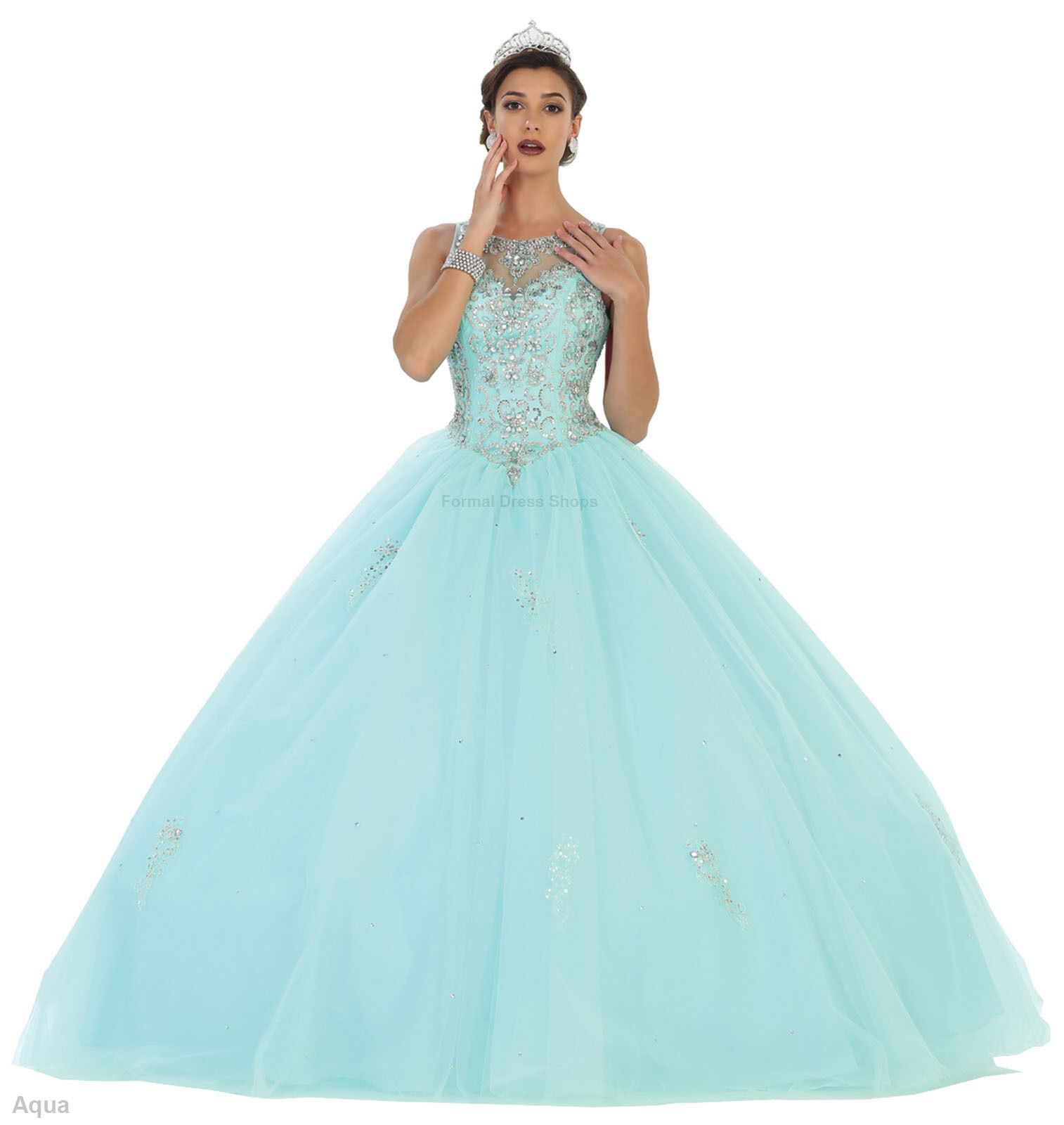 STUNNING QUINCEANERA RED CARPET DRESSES SWEET 16 PROM