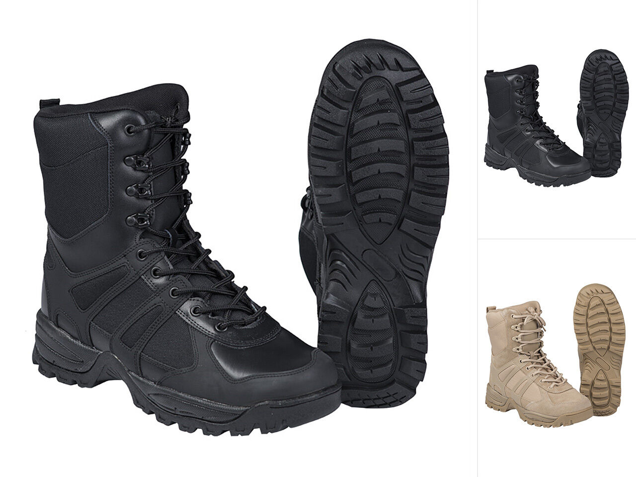 Mil-Tec Einsatzstiefel GEN II Schuhe Trekkingschuhe Outdoorschuhe Boots 39-46