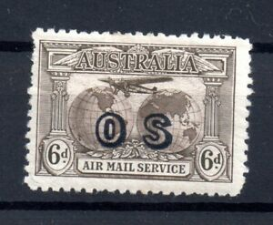 Australia-1931-6d-OS-Official-mint-MH-SG139A-WS15620