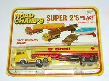 Road Champs / Yatming: HO Scale _ Shell Fuel Tanker (MOC)