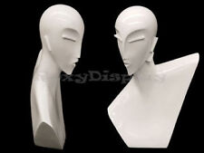 Female Mannequin Head Bust Wig Hat Jewelry Display #MD-BLADE