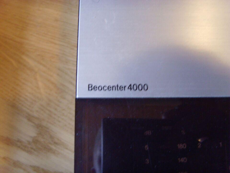 Stereoanlæg , Bang & Olufsen, Beocenter 4000