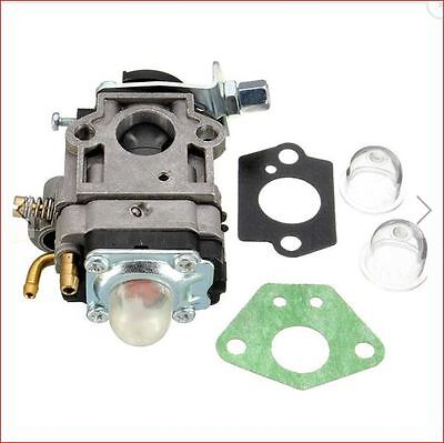 Carburetor Carb Kit Fits SCEWFIX TITAN TTL530GBC 43cc 52cc Brush Cutter Trimmer