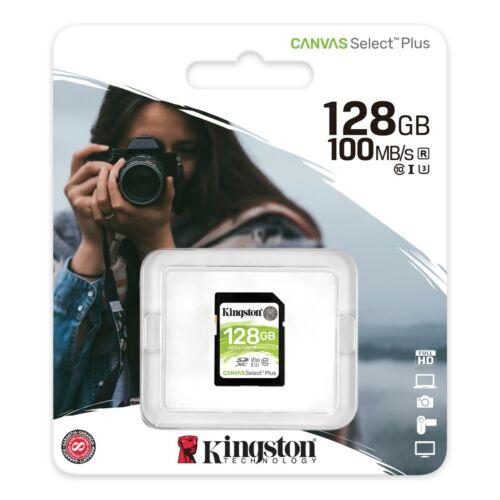 128GB Scheda di memoria SD XC per Canon EOS 2000D Fotocamera digitale