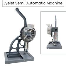 Semi Automatic Grommet Punching Machine Eyelet Hole Press Canvas Banner Making