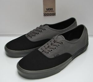 Image is loading VANS-Authentic-Blocked-Black-Pewter-VN-0A38EMOKV-Men- a8d60cc97