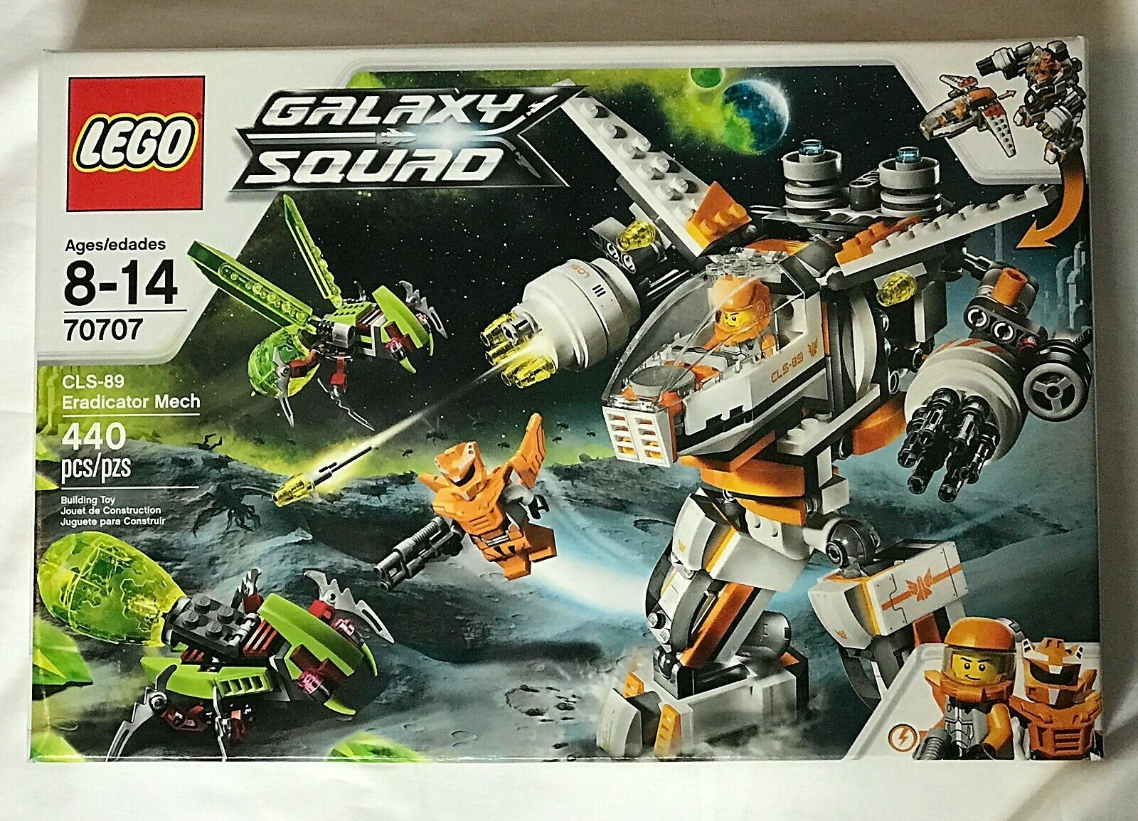 LEGO Galaxy Squad 70707 CLS-89 Eradicator Mech 440 pieces