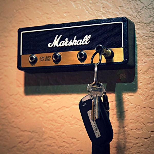 Marshall Guitar Amp Key Holder Jack Rack Brand New