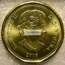 2016 Canada $1 One Dollar Regular Loon Loonie Coin Brilliant Uncirculated BU