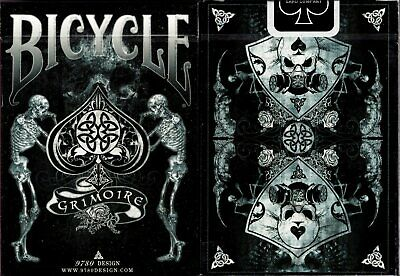 Double Black Limited Edition II Bicycle Playing Cards Poker Size Deck Custom New
