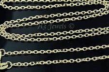 3.80 grams 18k solid yellow gold rolo chain necklace   18 inches #3753 h3jewels