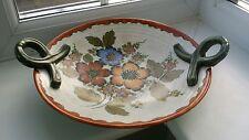 Large Art Deco Gouda pottery Royal Zuid Handled Plate  c.1930