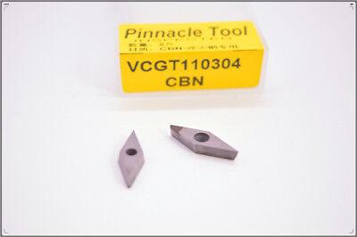 2pcs VCGT110304 PCD carbide inserst for Aluminum Polycrystalline diamond tools