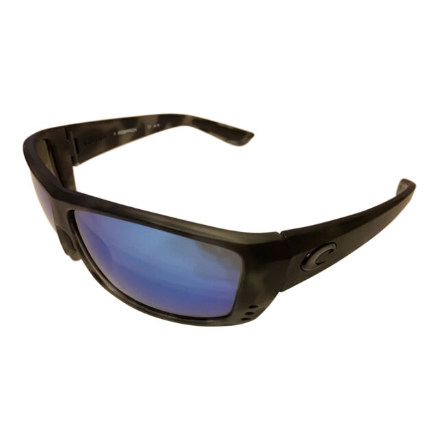 b60473b7e4 NEW Costa Del Mar Cat Cay Sunglasses - Ocearch Tiger Shark POLARIZED Blue  400G
