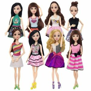 Newest Doll Clothes Handmade Fashion Dress For Barbie Doll Girls Toy Gift Hot