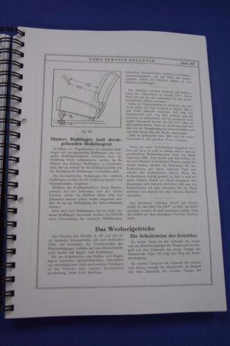 Werkstatthandbuch Ford Model A 1928-31 9000300