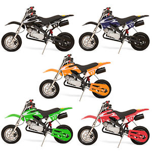 3769107007d 49cc Petrol Kids Mini Dirt Bike Moto Cross Scrambler XRT-49- 5 ...
