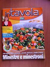 Rivista IN TAVOLA - SORRISI E CANZONI TV - N. 99 Dicembre 2006 Ricette con foto